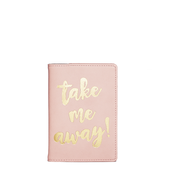 TAKE ME AWAY PASSPORT COVER