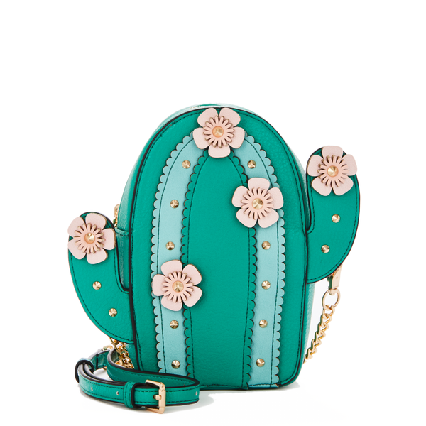CUTE AS A CACTUS CROSSBODY green