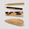 BIRDS OF A FEATHER HAIR CLIP SET neutral