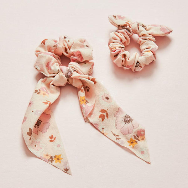 ALL TIED UP SCRUNCHIE SET MINI desert floral