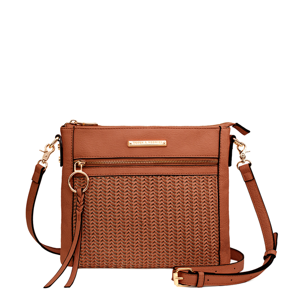 the POSADA CROSSBODY toffee
