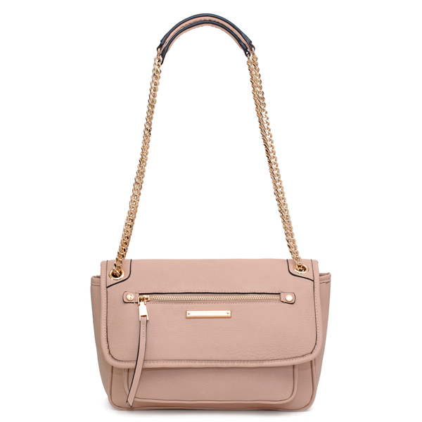 the REVEL CROSSBODY nude