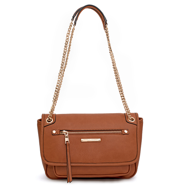 the REVEL CROSSBODY toffee