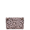 the RUBY CLUTCH leopard