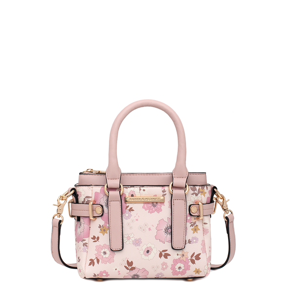 the FLORAL SATCHEL MINI