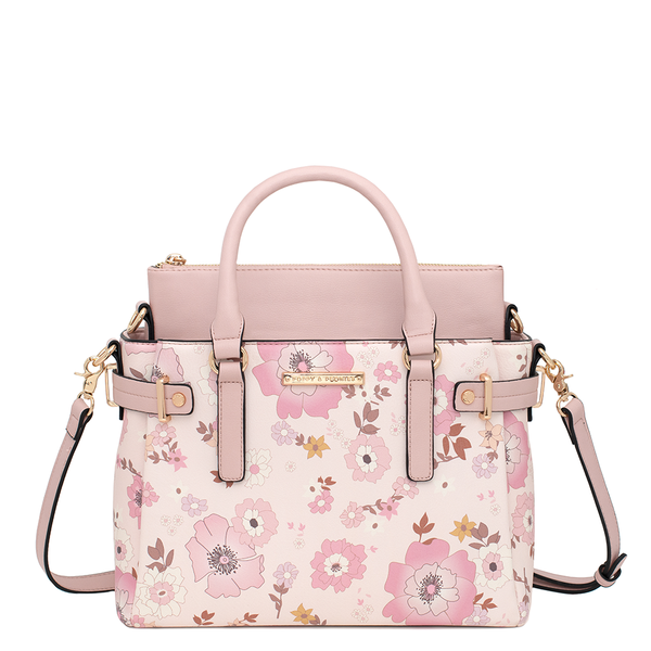 the FLORAL SATCHEL