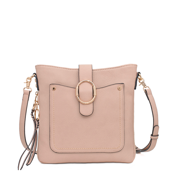 <i>the</i> SAVANNAH CROSSBODY <i>nude</i>