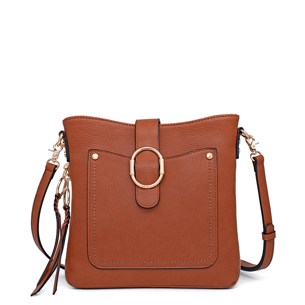 <i>the</i> SAVANNAH CROSSBODY <i>toffee</i>