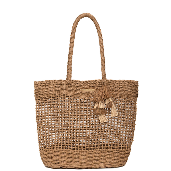 <i>the</i> SEASIDE TOTE <i>straw</i>
