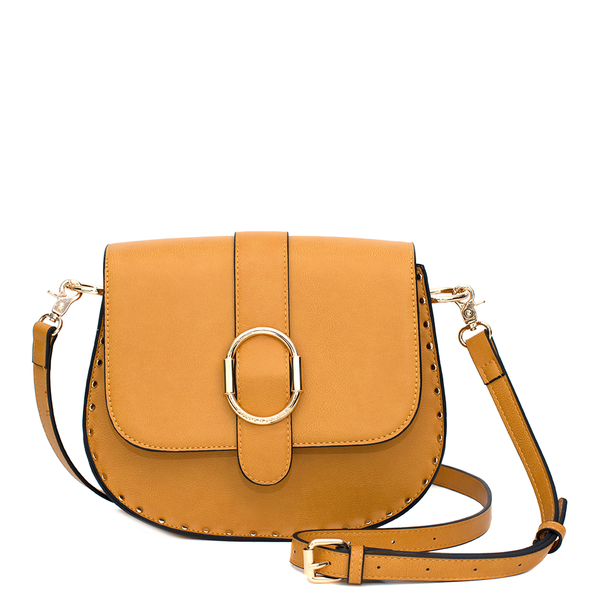 the SIENNA SADDLE BAG marigold