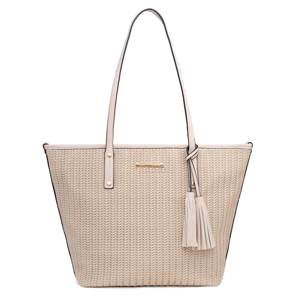 the TUCSON TOTE cream