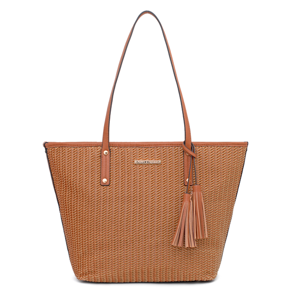 the TUCSON TOTE toffee