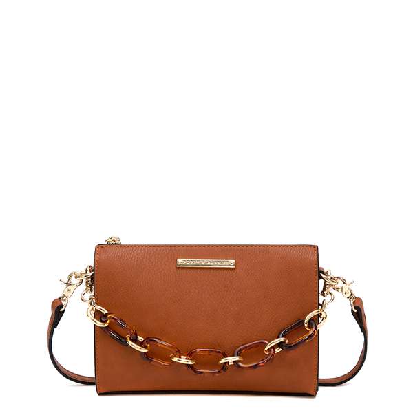 the TULA CROSSBODY toffee