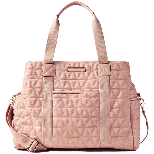 <i>the</i> QUILTED WEEKENDER <i>blush</i>