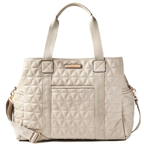 <i>the</i> QUILTED WEEKENDER <i>grey</i>