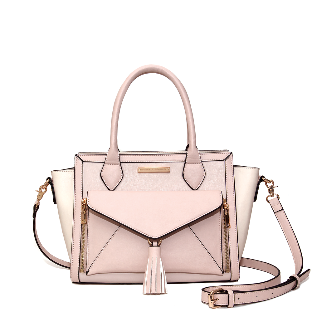 <i>the</i> WILLOW SATCHEL <i>blush</i>