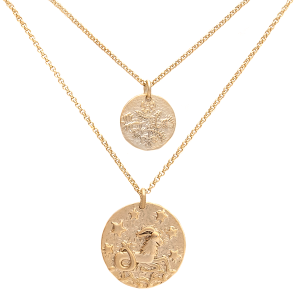 ZODIAC NECKLACE SET <i>capricorn</i>