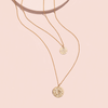 ZODIAC NECKLACE SET <i>leo</i>