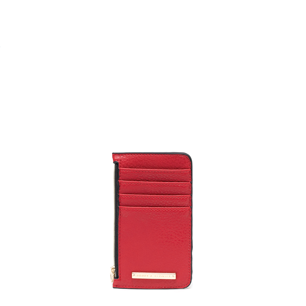 ALL YOU NEED CARD HOLDER red