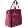<i>the</i> CARRY-ALL <i>berry quilted</i>