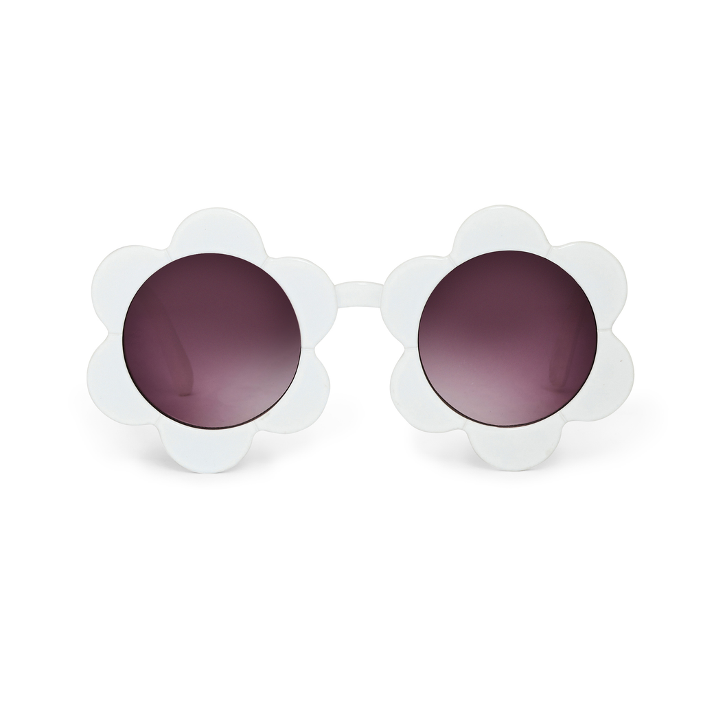 the WILDFLOWER SUNNIES white