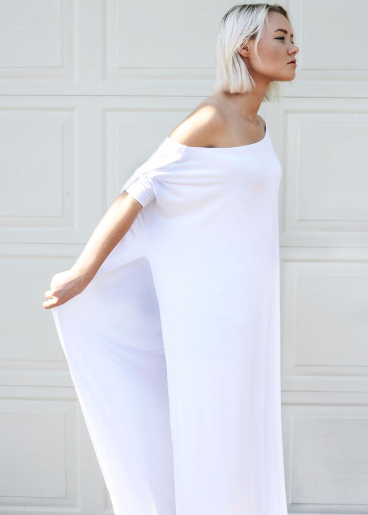Vent Tee Maxi Dress [more colors] - BABOOSHKA BOUTIQUE - 6