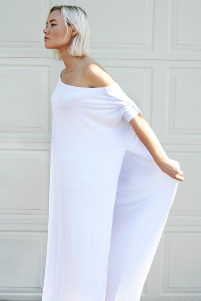 Vent Tee Maxi Dress [more colors] - BABOOSHKA BOUTIQUE - 2