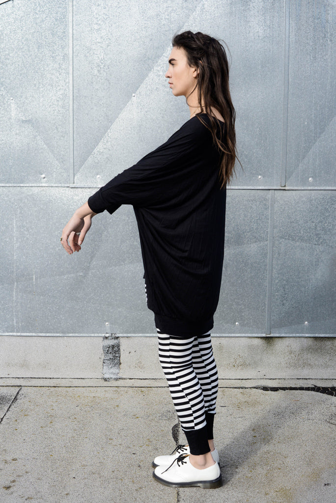 Asymmetrical Oversized T-Shirt Dress [new colors] - BABOOSHKA BOUTIQUE - 16
