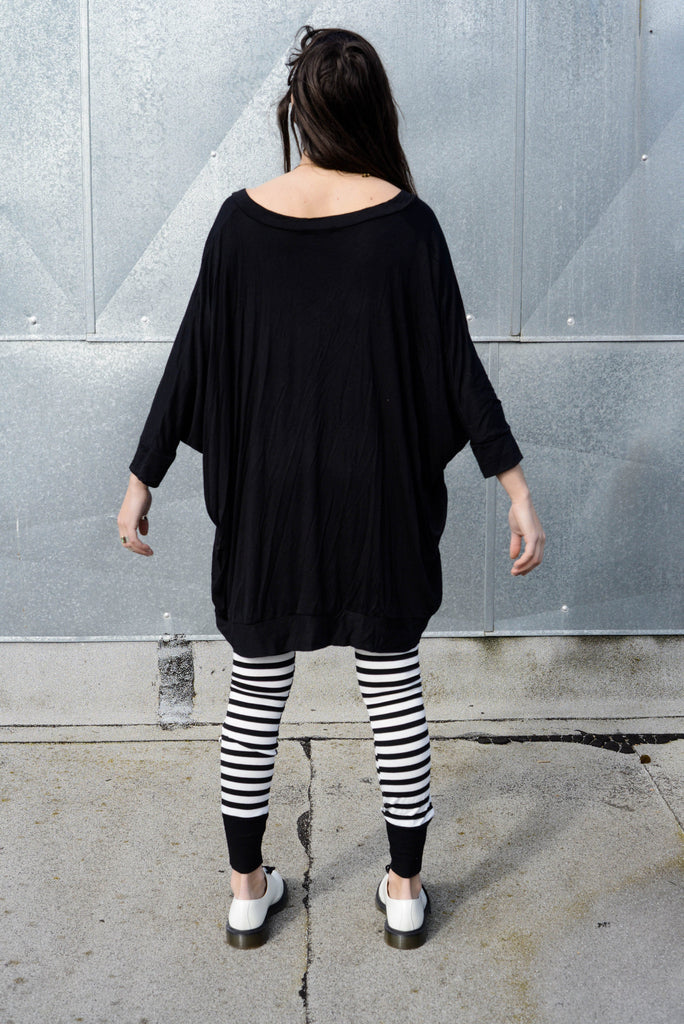 Asymmetrical Oversized T-Shirt Dress [new colors] - BABOOSHKA BOUTIQUE - 7