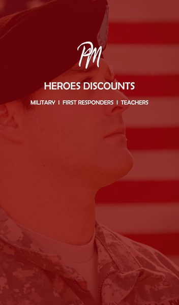 15% Discount for Heroes