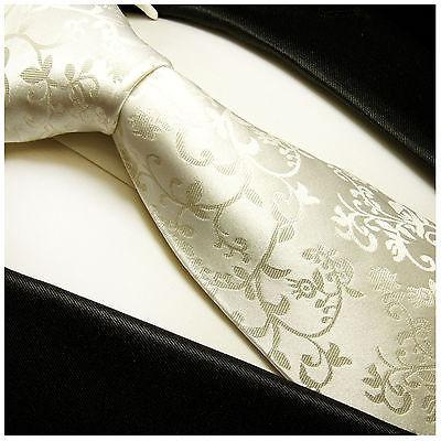 Ivory Silk Wedding Tie Set by Paul Malone Paul Malone Ties - Paul Malone.com