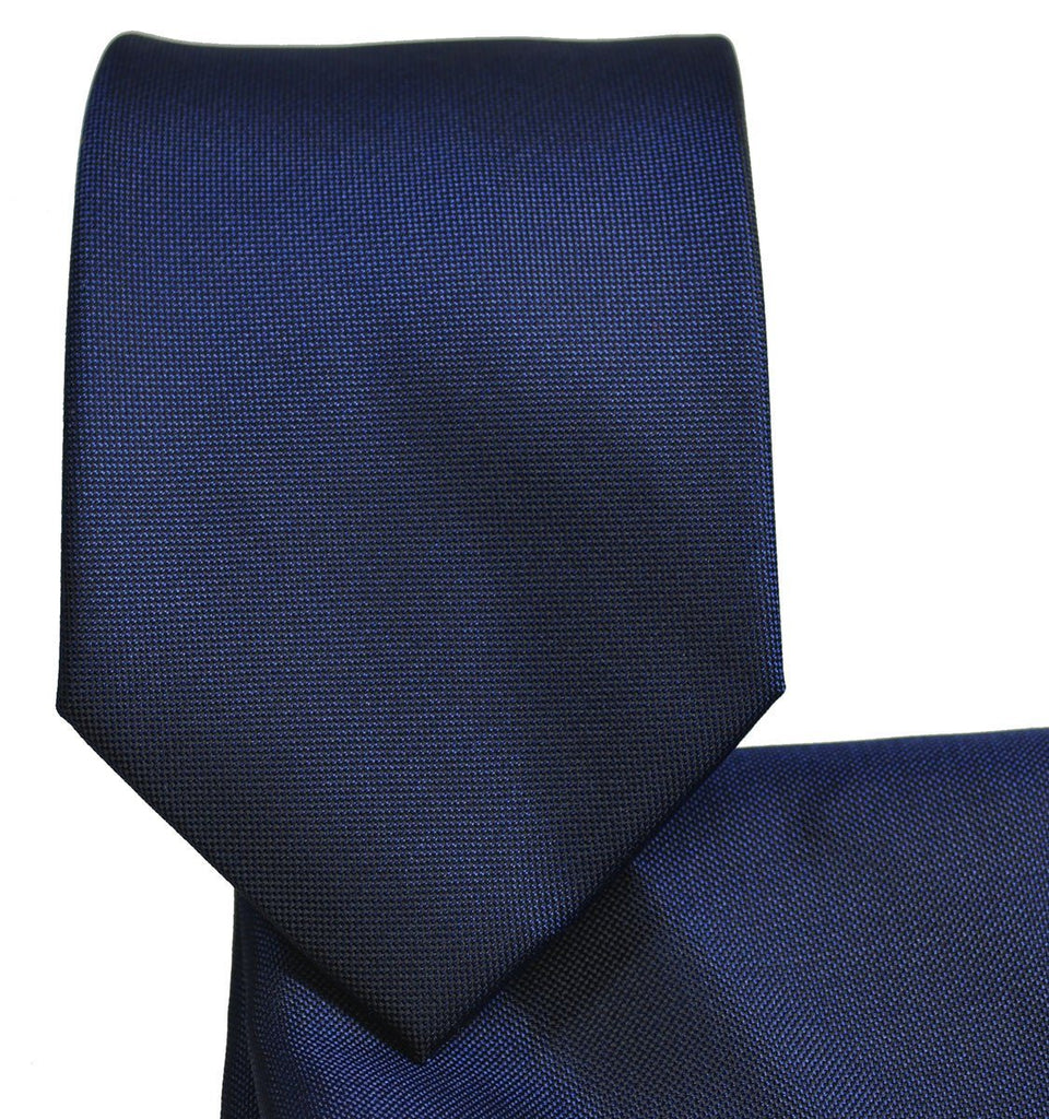 Navy Silk Tie and Accessories by Paul Malone Palm Beach Paul Malone Ties - Paul Malone.com