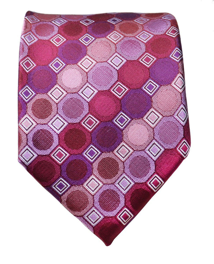 Purple Rain Silk Tie and Accessories Paul Malone Ties - Paul Malone.com