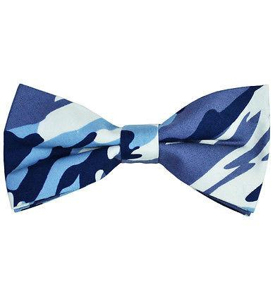 Camouflage Cotton Bow Tie by Paul Malone Paul Malone Bow Ties - Paul Malone.com