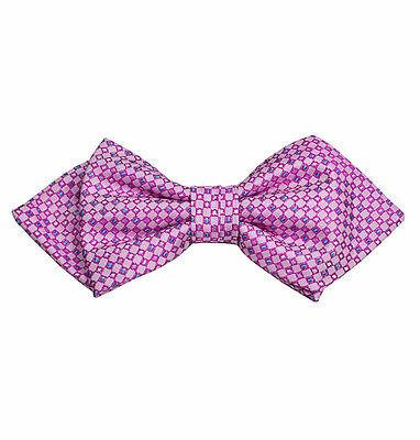Pink Silk Bow Tie by Paul Malone Paul Malone Bow Ties - Paul Malone.com