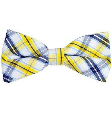 Plaid Cotton Bow Tie by Paul Malone Paul Malone Bow Ties - Paul Malone.com