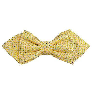 Yellow Silk Bow Tie by Paul Malone Paul Malone Ties - Paul Malone.com