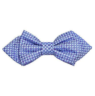 Blue Silk Bow Tie by Paul Malone Paul Malone Bow Ties - Paul Malone.com