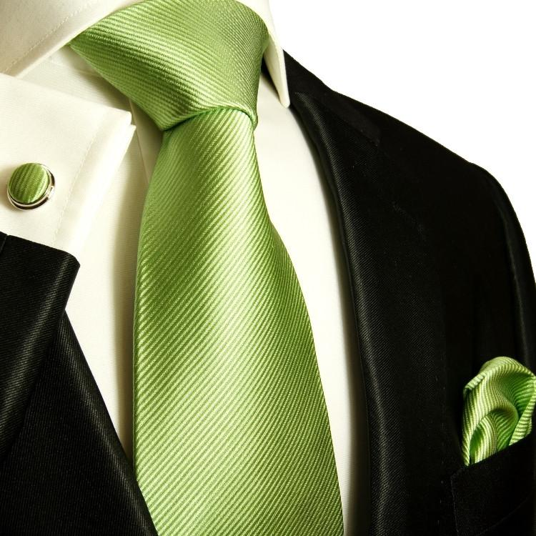 Green Silk Tie and Accessories in Silk Paul Malone Ties - Paul Malone.com