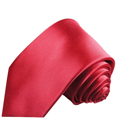 Solid Satin Hot Pink Silk Necktie Paul Malone Ties - Paul Malone.com