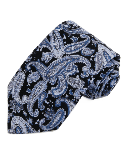 Elegant Violet Striped Silk Necktie