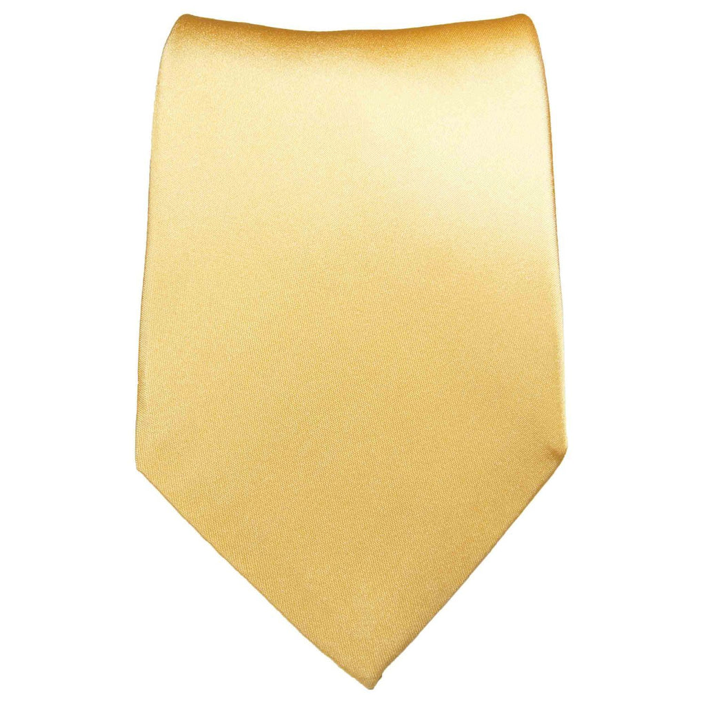 Solid Peach Silk Tie and Accessories Paul Malone Ties - Paul Malone.com