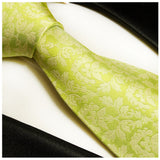 Silk Necktie Set by Paul Malone . Summer Green Paul Malone Ties - Paul Malone.com