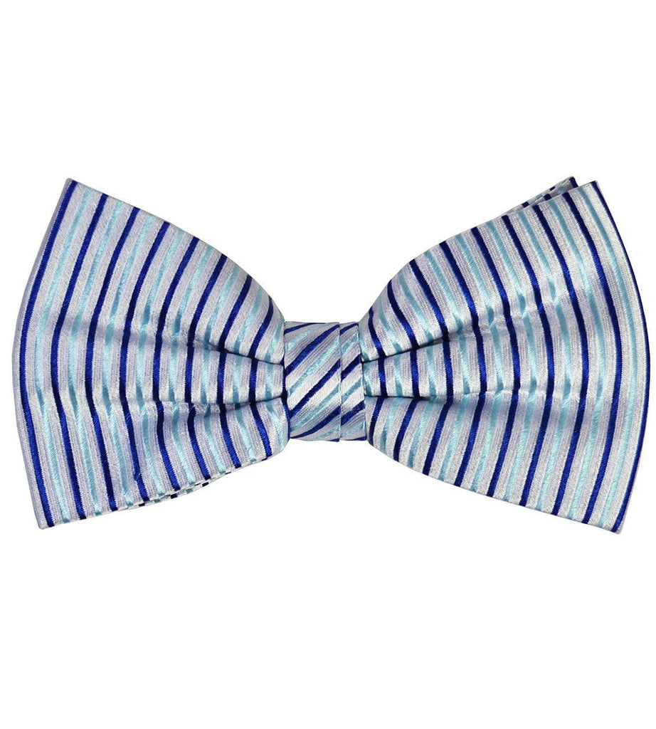 Striped Silk Bow Tie Paul Malone Bow Ties - Paul Malone.com