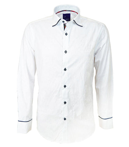 Purple Slim Fit Men's Shirt
