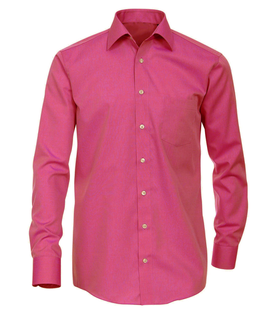 Classic Fuchsia Boys Dress Shirt Gioberti Shirts - Paul Malone.com