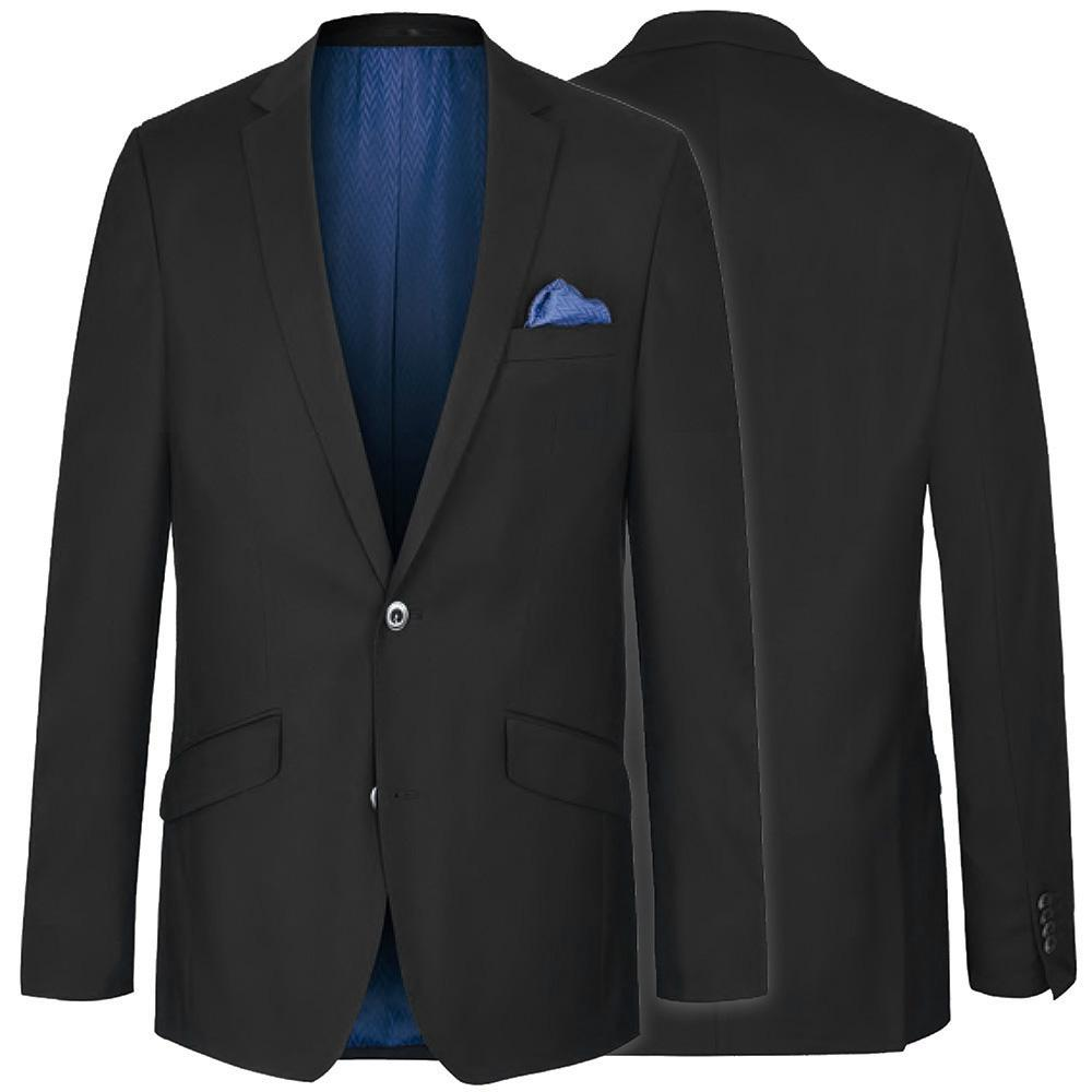 Modern Fit Black Suit with Pick Stitch Paul Malone Suits - Paul Malone.com
