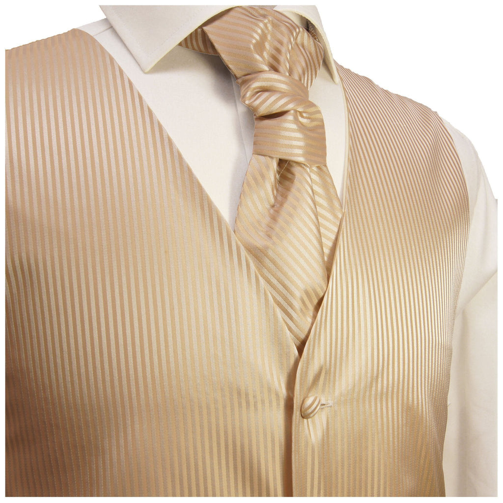 Frappe Striped Tuxedo Vest Set Paul Malone Vest - Paul Malone.com