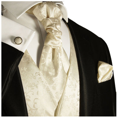 Ivory Wedding Tuxedo Vest Set Paul Malone Vest - Paul Malone.com