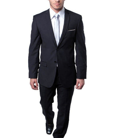 Ultra Slim Charcoal Men's Suit Tazio Suits - Paul Malone.com